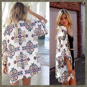 Other - Kaftan bohemian/ tribal coverup beach sale